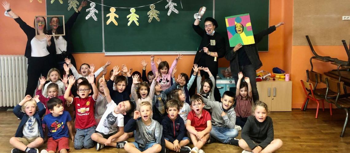 Journée artiste chez les 5-6 ans !