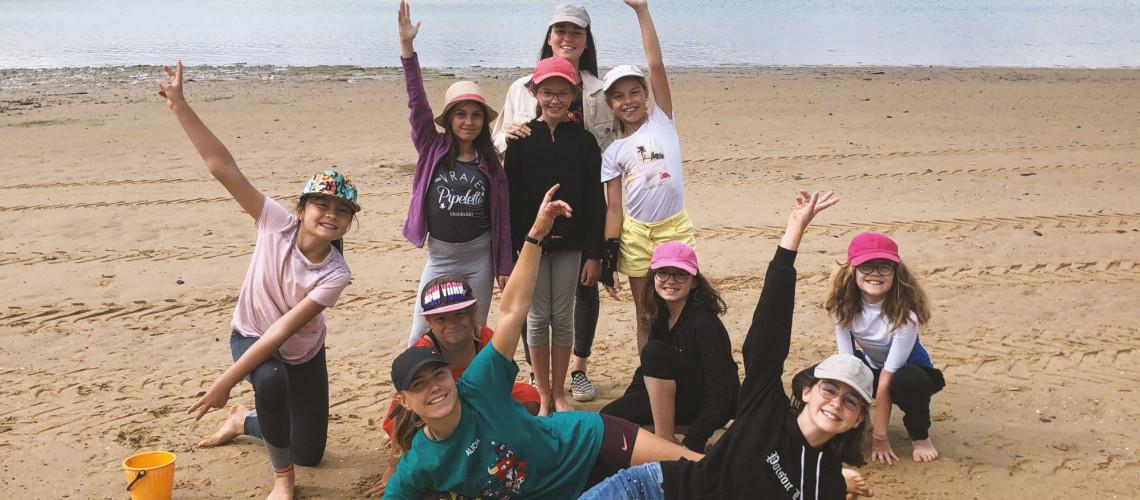 Juillet 2020 - Sortie plage avec les 9- 13 ans !