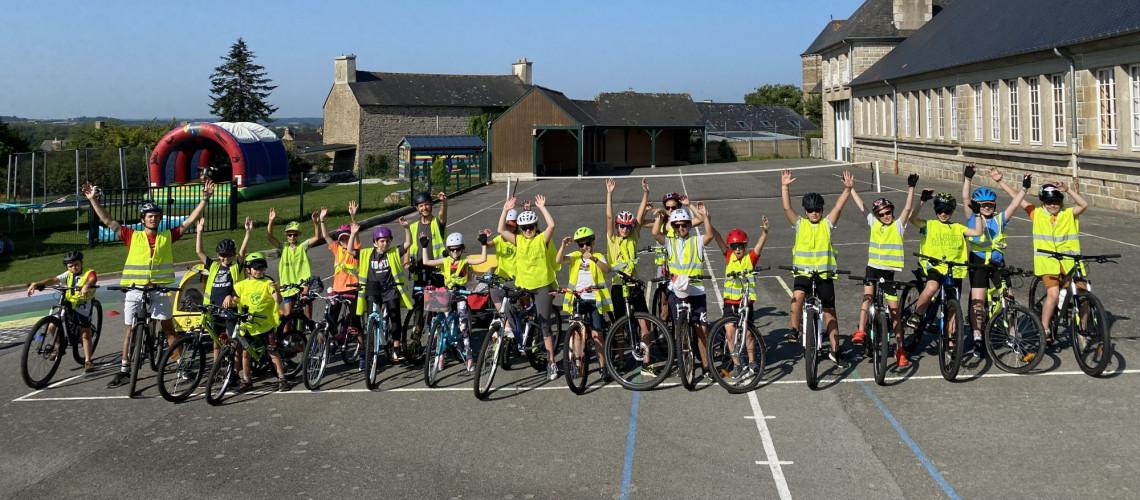 Départ pour le séjour vélo de la jeunesse -2021-